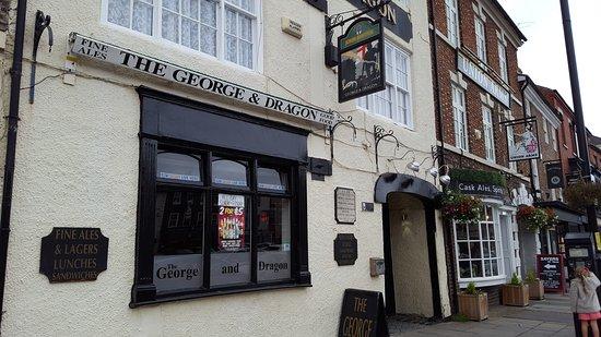 Yarm, UK: The George and Dragon