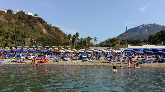 Baia di San Montano: view from the sea