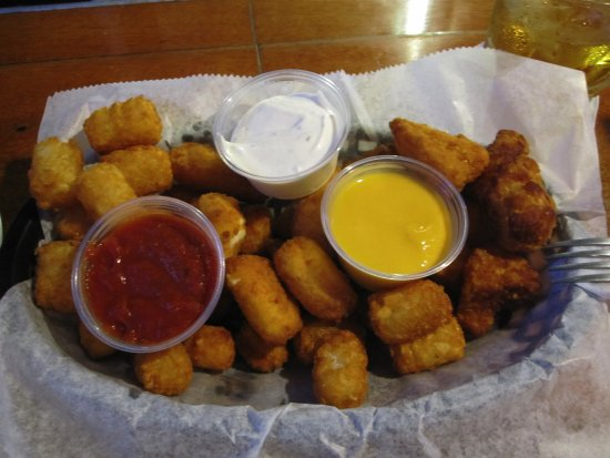 Belle Plaine, MN : Mozarella Sticks, taqter Tots and Cauliflower