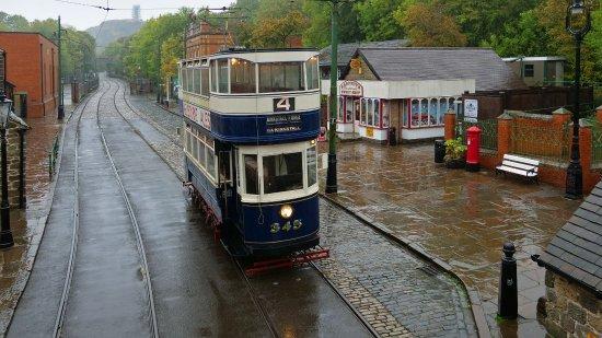 Matlock, UK: Wet Tram