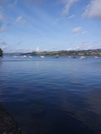 Shaldon, UK: View from the Boathouse Restaurant