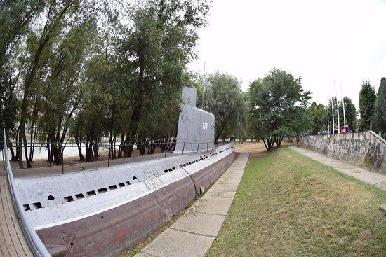 Museum of military technologies Oruzhie Pobedy: Подводная лодка