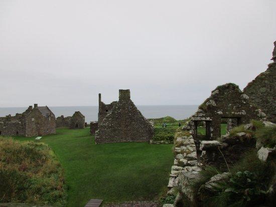 Stonehaven, UK: Teil der Ruine