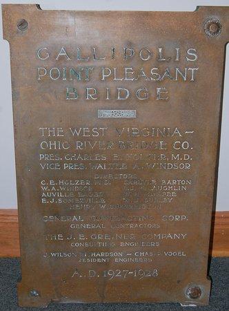 Point Pleasant, WV: plaque