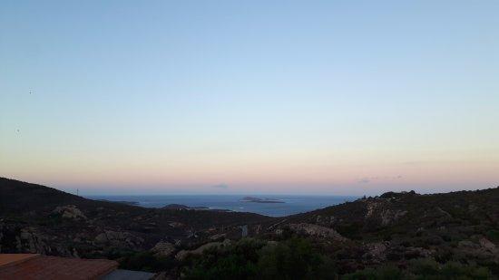 San Pantaleo, Italia: Vista dalla camera