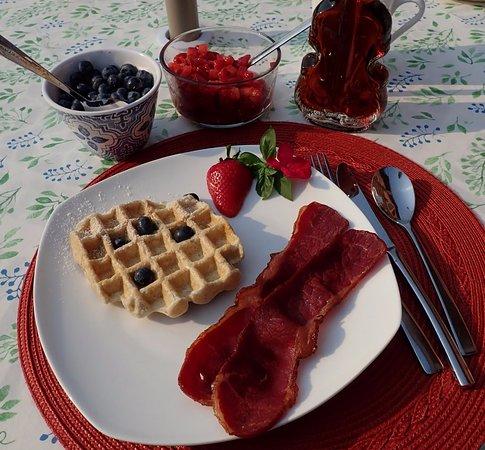 Eden House B&B: Breakfast