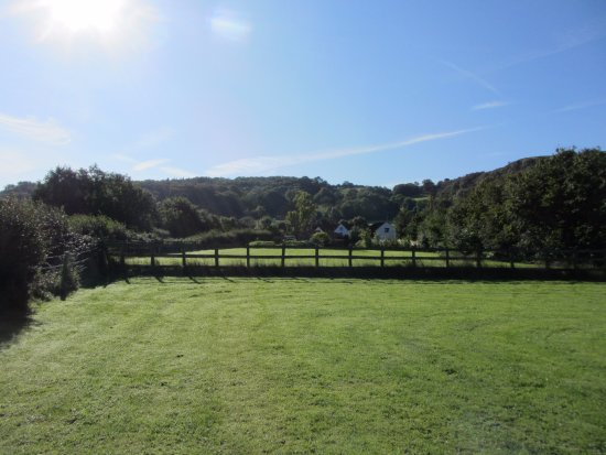 Winscombe, UK: Home Farm fields
