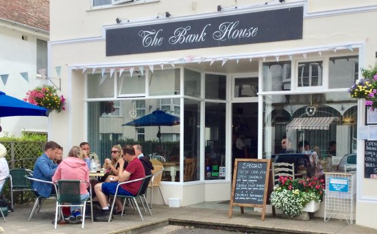 Charmouth, UK: The Bank House Cafe