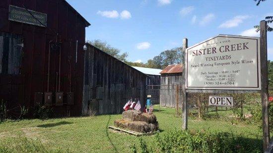 Sisterdale, TX: Sister creek