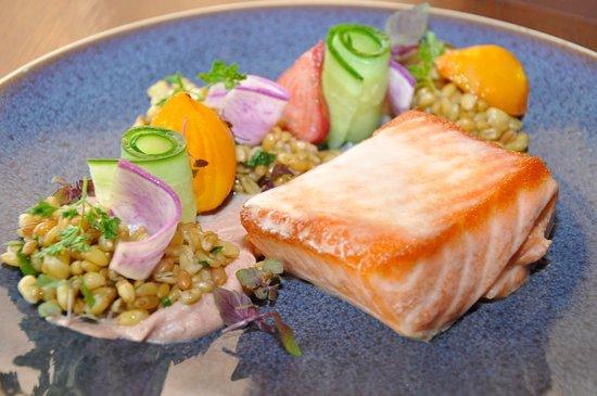 Bernardsville, Nueva Jersey: New Zealand King Salmon