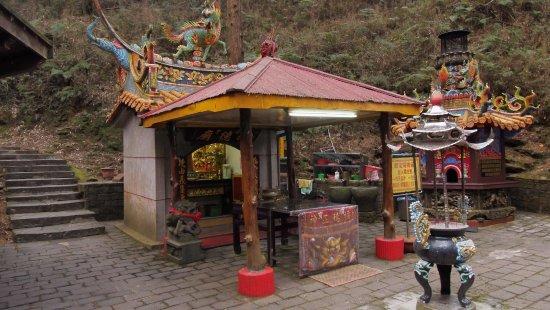 Alishan, Chiayi County: ศาลเจ้าด้่านหน้า