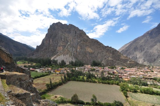 Archaeological Park Ollantaytambo: Beautiful view