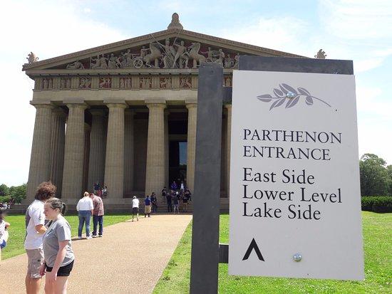 The Parthenon: Parthenon Entrance
