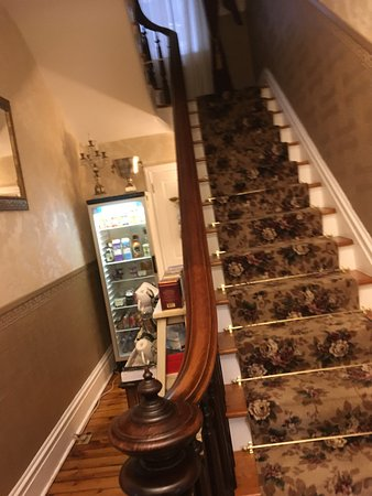 Danville, PA: staircase up to the other rooms