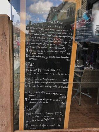 Le Mathurin Restaurant Saint Valery Sur Somme