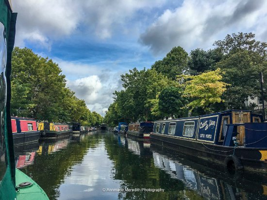Canal and River Cruises Day Tours: View from Lady A on Regent's Canal
