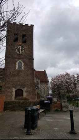 Shepperton, UK: La torre