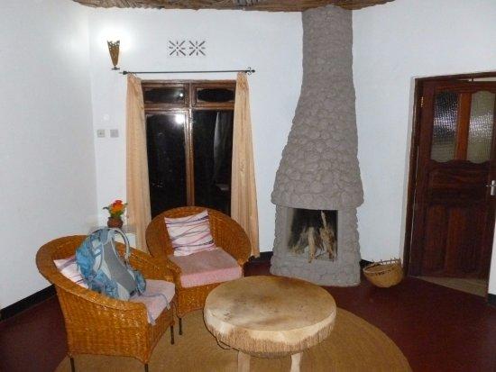 Karatu, แทนซาเนีย: Cabin bedroom