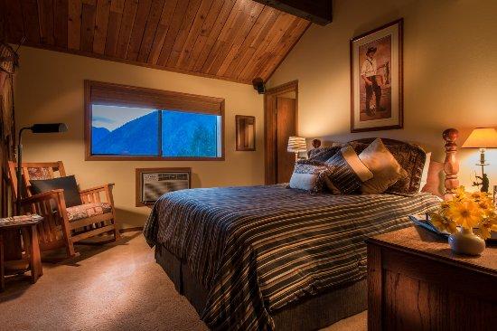 Mountain Home Lodge: Sportsman Room