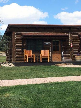 Saratoga, WY: Our restored cowpoke Pearce Cabin