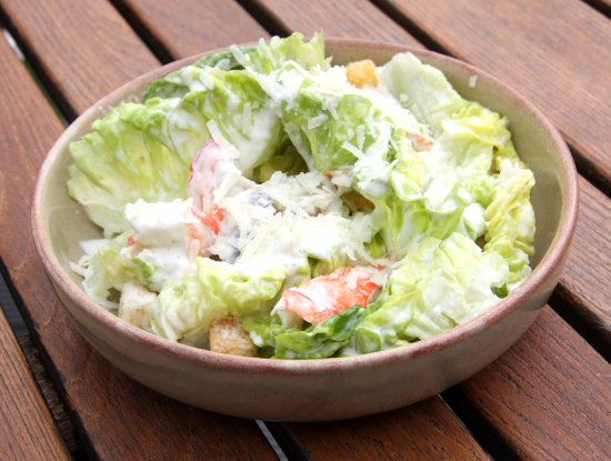 Woodbridge, UK: Crayfish Caesar Salad