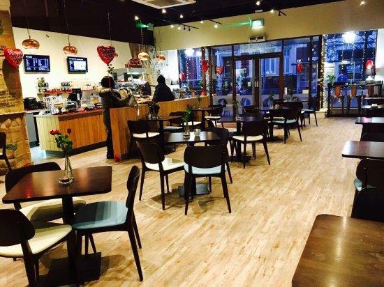 Barking, UK: Caffe Latte