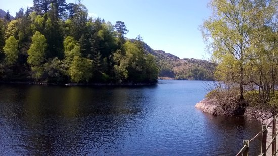 Loch Lomond and The Trossachs National Park, UK: Lago Katrine