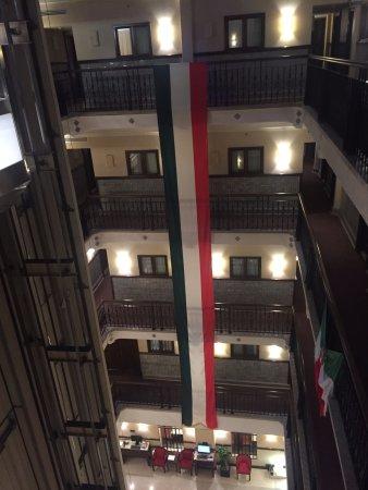 Hampton Inn & Suites Mexico City - Centro Historico : Celebrating Mexican Independence