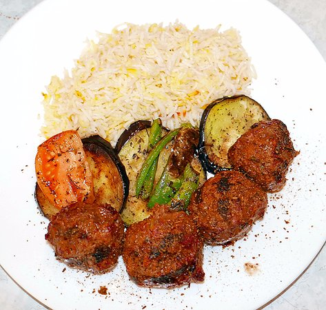 Cleveland Heights, OH: Minced meat kebabs