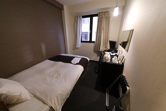 Hotel Area One Kagoshima: 單人房。