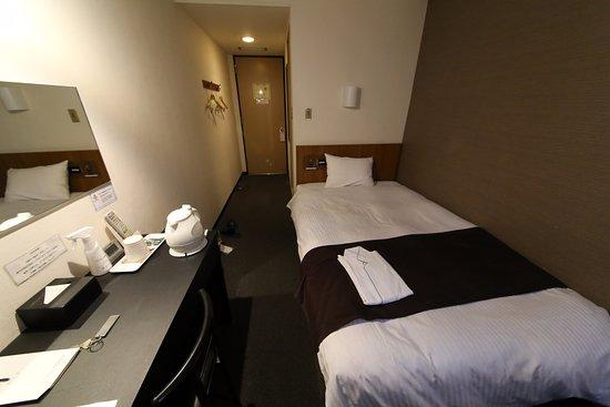 Hotel Area One Kagoshima: 整體算企理,但細看會發現一點污跡。