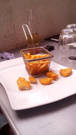 Saint-Cannat, France: menu enfant