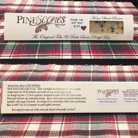 Pinehurst, Karolina Północna: Home of The Original Take & Bake Scone Dough Log!