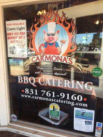 Watsonville, CA: Carmona's BBQ Deli