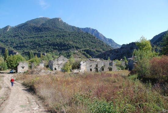 Fiscal, Spain: Vue du village prise de l'église
