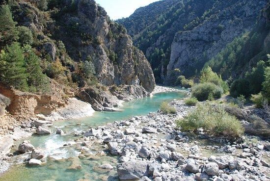 Fiscal, España: Rio Ara proche du Village