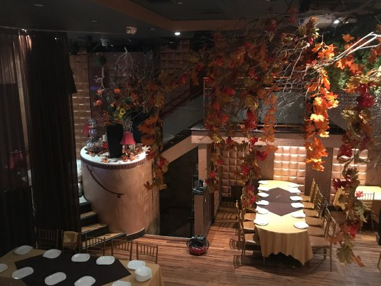 Restaurant Encore With New Fall Decorations Picture Of