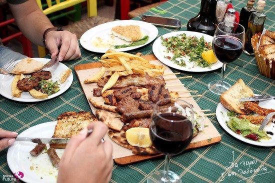 Thessaloniki Region, Grecia: Dinner!
