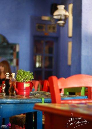 Thessaloniki Region, Grecia: Tables!