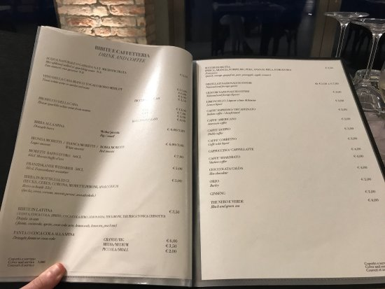 Extensive menu that did not disappoint!