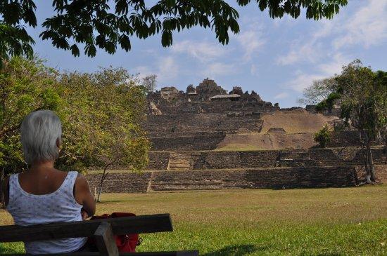Ocosingo, México: vista del sito di Toninà
