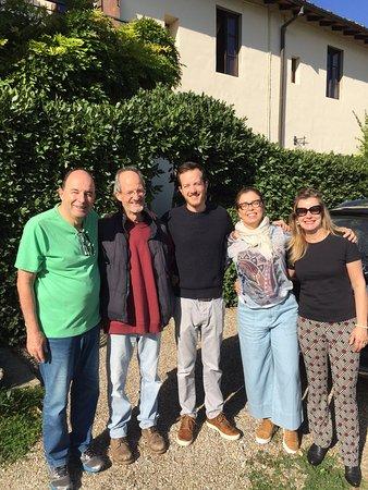 Rignano sull'Arno, Ιταλία: Enrico e Matteo, sentiremos saudades. Grazzie mille.