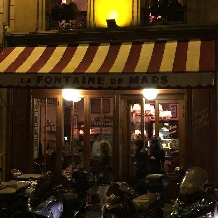 Coq au vin on pasta - Picture of La Fontaine de Mars, Paris ...