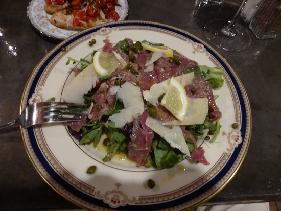 La Grande, OR: Beef Carpaccio