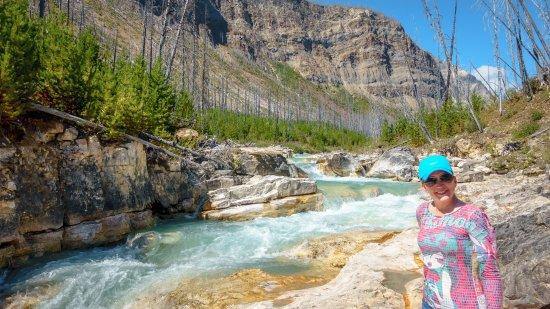 Kootenay National Park, Kanada: You can get very close to the river at Marble Canyon.