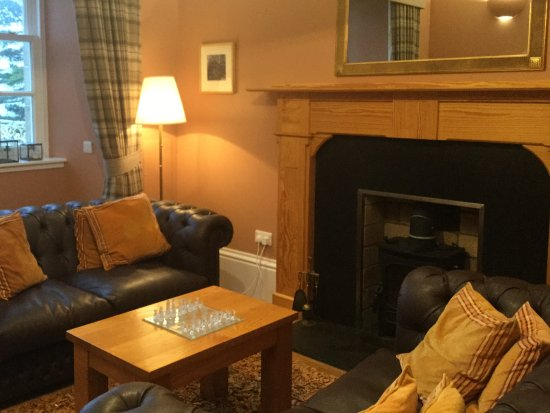 Isle of Raasay, UK : Sitting room