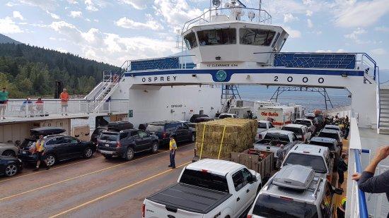 Balfour, Canada: Kootenay Lake Ferry