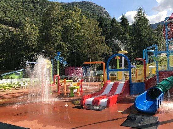 Kinsarvik, Norway: Toddler water park