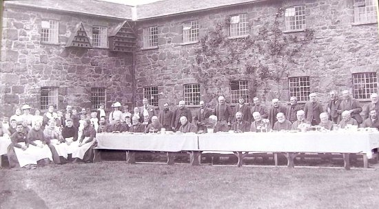 Inmates of Llanfyllin Workhouse