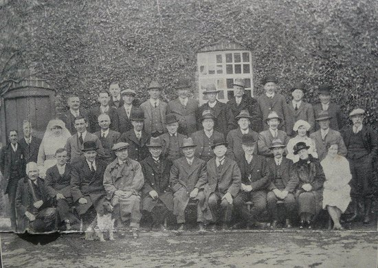 Guardians of Llanfyllin Workhouse